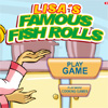 Lisas Famous Fish Rolls online game