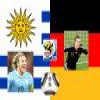 Match for the 3rd place 2010 World Cup Uruguay vs Germany Puzzle online game