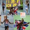 Mo Farah 10.000 m champion, Barcelona 2010 Puzzle online game