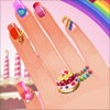 Nail Studio - Candy Design online game