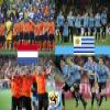 Netherlands - Uruguay, semi-finals, South Africa 2010 Puzzle online game