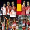 Nuria Fernandez champion at 1500 m, Barcelona 2010 Puzzle online game