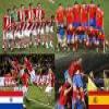 Paraguay - Spain, quarter finals, South Africa 2010 Puzzle online game