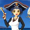 Pirate girl dress up online game