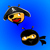 Pirates vs. Ninjas: Fupa Attack! online game