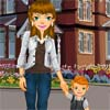 Take A Walk Dress Up online game