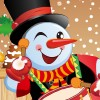The Funny Snowman Dress Up online game