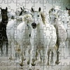 White Horse Jigsaw online game