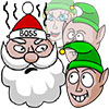 X-mas Snowfight online game
