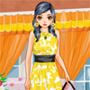Yellow Daisy Dress Up online game