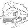 Coloring Trucks -1