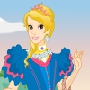 Flower princess dress up