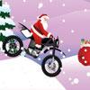 Santa Claus Extreme Biker
