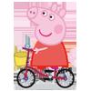 piggy-on-bike